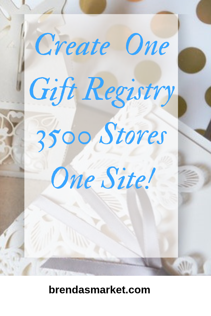 Create one gift registry - 3500 stores - one website