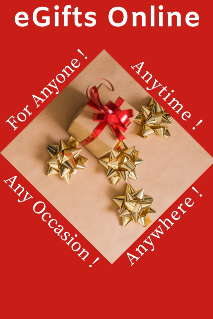 eGifts Online Gifts Anytime