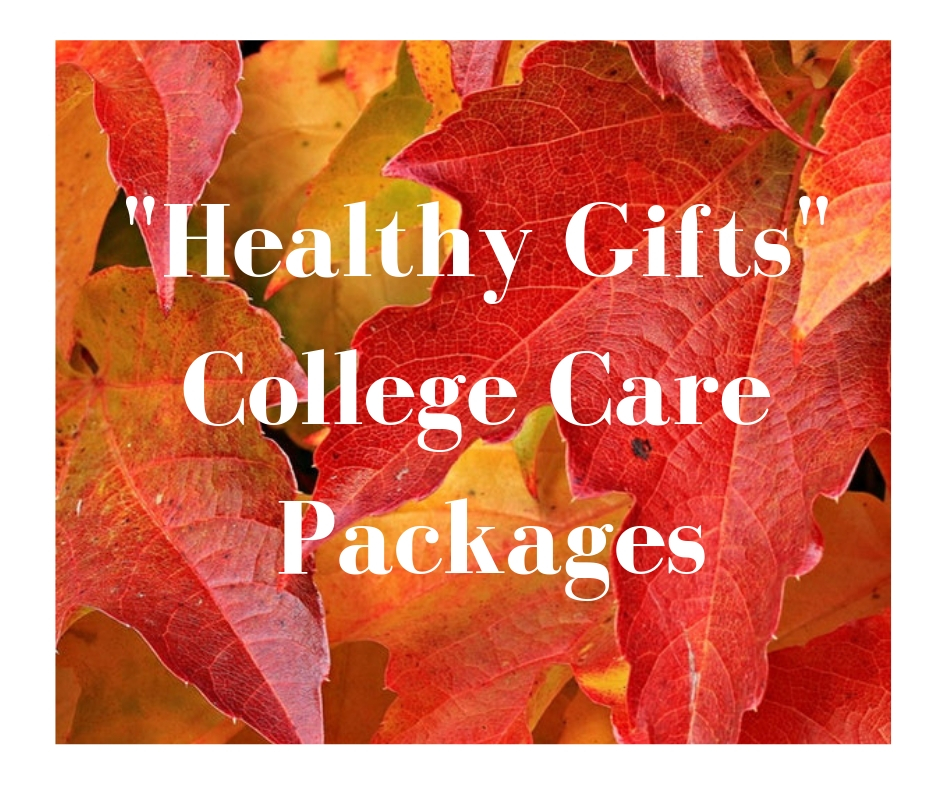 Healthy Gifts for College Care Packages